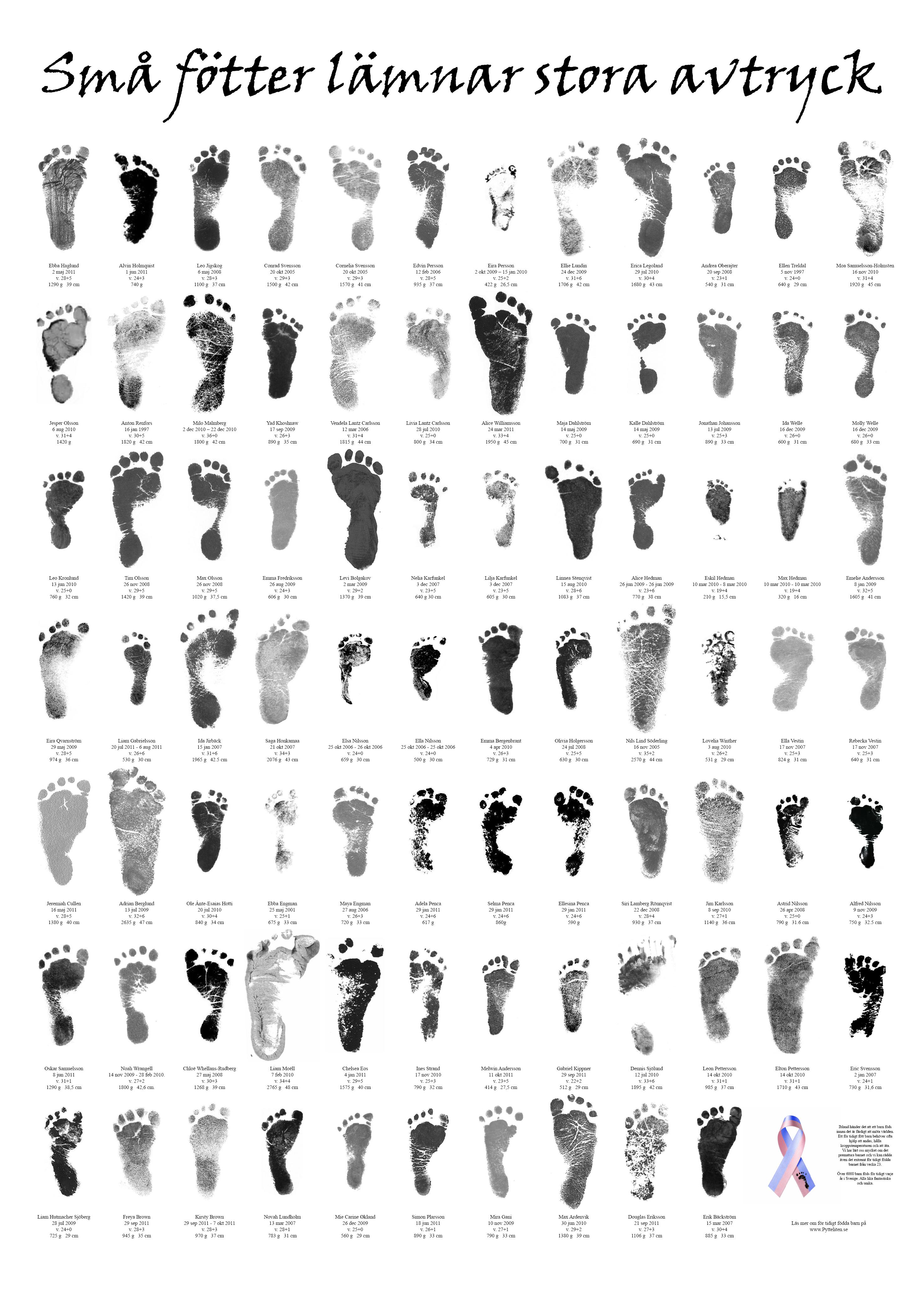 Kangaroo Footprint Pytteliten - tiny - footprints